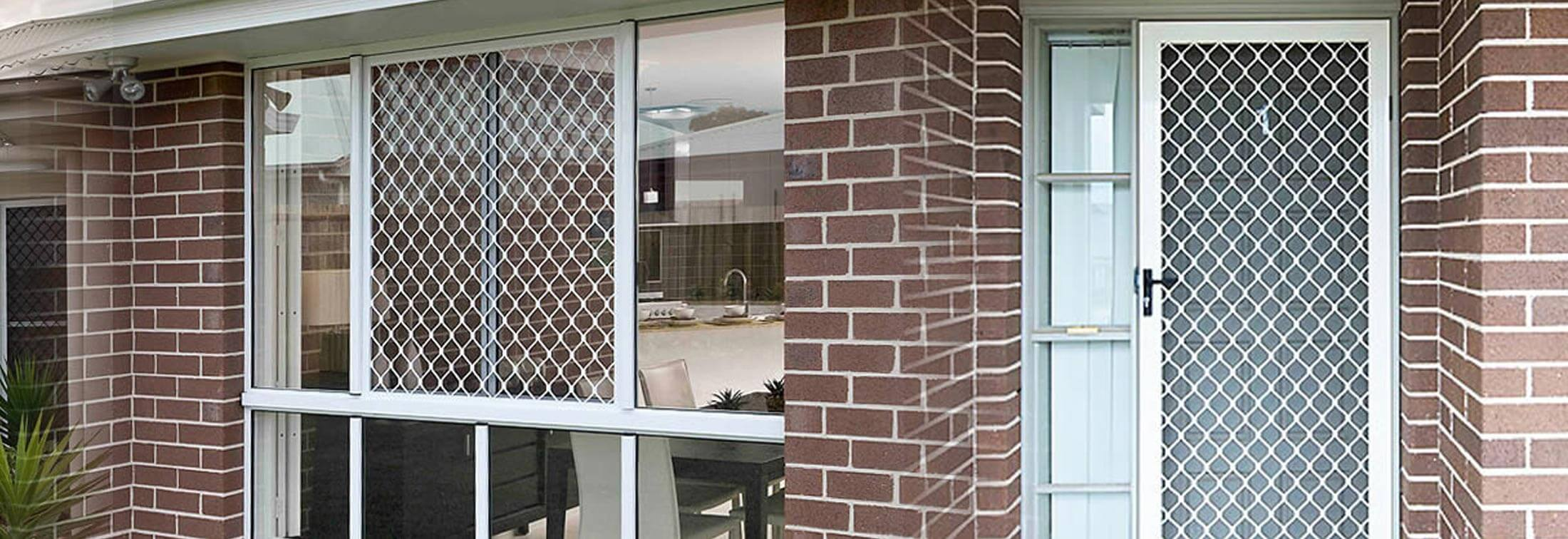 diamond grille security door adelaide & Diamond Grille Security Doors Adelaide - W\u0026S Security Doors \u0026 Screens