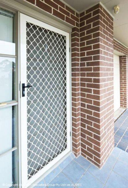 Diamond Grille Security Doors Adelaide - W&S Security ...
