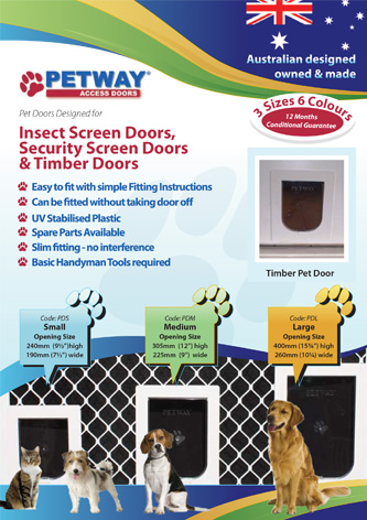 pet door adelaide brochure